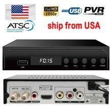 2018 ATSC HD Receptor USA/Mexico/Canada/South Korea TERRESTRIAL ATSC TV BOX 1080P HDMI Digital/Analog CONVERTOR RECEIVER HDTV
