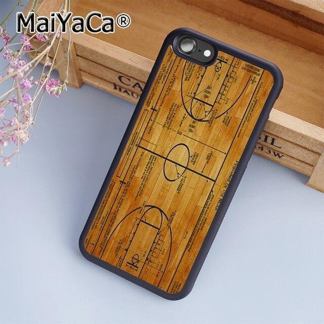 maiyaca basketball court diagram soft tpu mobile phone case funda for  iphone 7 back cover skin shell