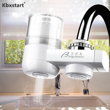 Kitchen Faucet-Mounted Water Clarifier Home Water Cleaner Filtro De Agua Del Grifo Healthy Ceramic Cartridge Tap Water Purifier tap water filter faucet home kitchen filtro de agua del grifo healthy ceramic cartridge tap water purifier filter for household