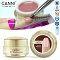 1 PC 15 ml CANNI Natural Nu Pastel Cor UV Builder Gel Camuflagem Extensão Acrílico UV Gel para Nail Art Tips Falso 15 Cores