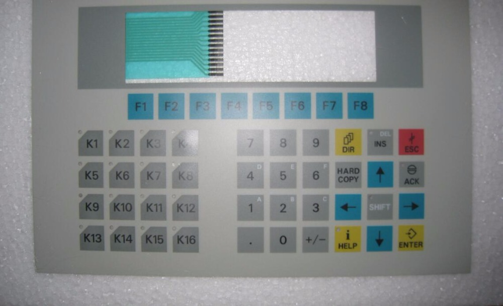 new and original Kyepad for OP15 6AV3515-1EK30-1AA0 membrane keypad for 6av3515 1ma30 1aa0