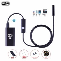 NEW 8mm Lens Wifi HD 720P Endoscope For Android IOS Windows Borescope Waterproof Inspection Endoscope Camera