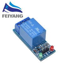 10pcs 1 Channel 5V Relay Module Low level for SCM Household