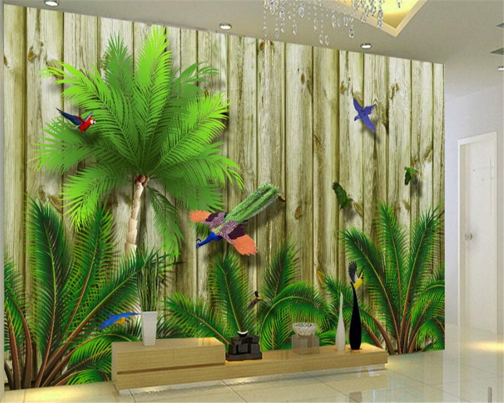 Beibehang hanging on the wall of the seductive wallpaper tropical bird in southeast asia bedroom - Pheasant wallpaper for walls ...