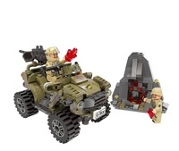XINGBAO PUGB Military War The Oprah Sand Car Building Blocks Sets For Kids Classic Model Toys