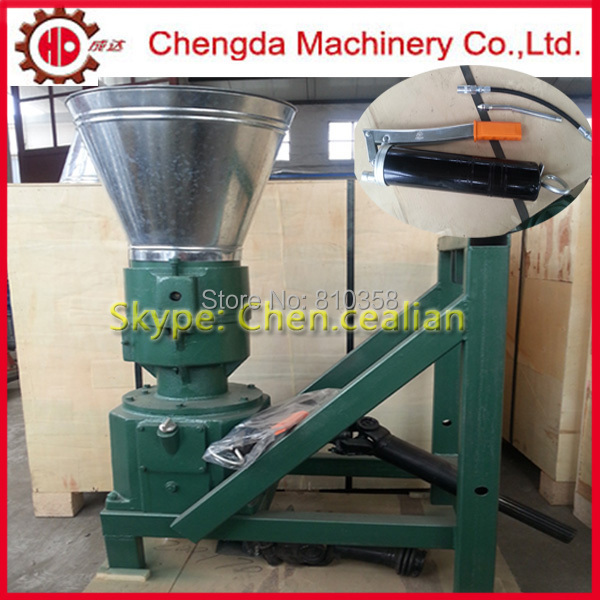 Free shipping pto feed and wood pellet mill machinery