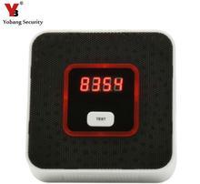 Yobang Security Gas Detector Alarm Sensor Gas Leakage Sensor Natural gas leak detector with Voice Warning Natural Gas Sensor