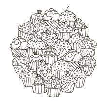 AZSG Delicious little cake Clear Stamps For DIY Scrapbooking Decorative Card making Craft Fun Decoration Supplies 13*13cm