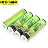 Liitokala 18650 3.7V 3400mah NCR18650B for rechargeable Lthium Battery protection board Suitable flashlight battery