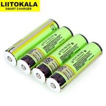 Liitokala Placa de protección de batería recargable, batería para linterna, 18650, 3,7 V, 3400mah, NCR18650B