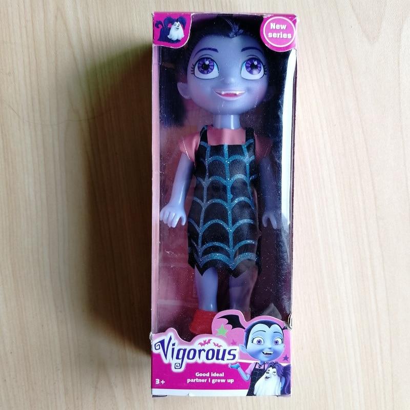 17CM Cute Junior Vampirina Girls Dolls The Vamp Woman Girl Move Action  Figure Toys For Children Gilrs Birthday Party Gift
