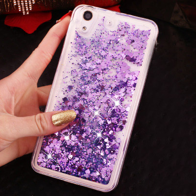 Glitter Stars Dynamic Liquid Quicksand Luxury Silicone for Lenovo A 6000 A6000 / A <font><b>6010</b></font> A6010 Plus K 3 K3 / K30 K 30 K30-t K30-w image
