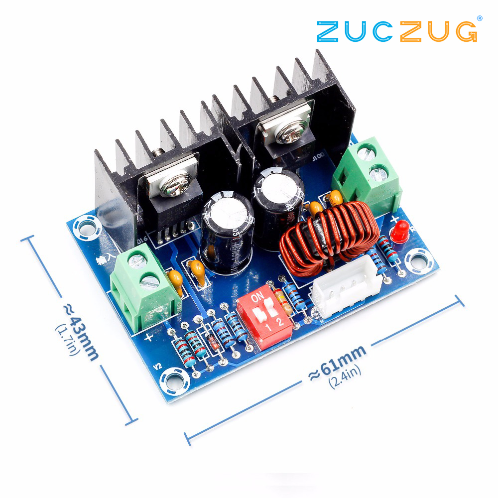 Xh M405 Dc Voltage Regulator Module 200w Xl4016 Step Down Buck Power Opamp With Overvoltage Protection Circuit Board High 8a External Potentiometer In Integrated Circuits From Electronic