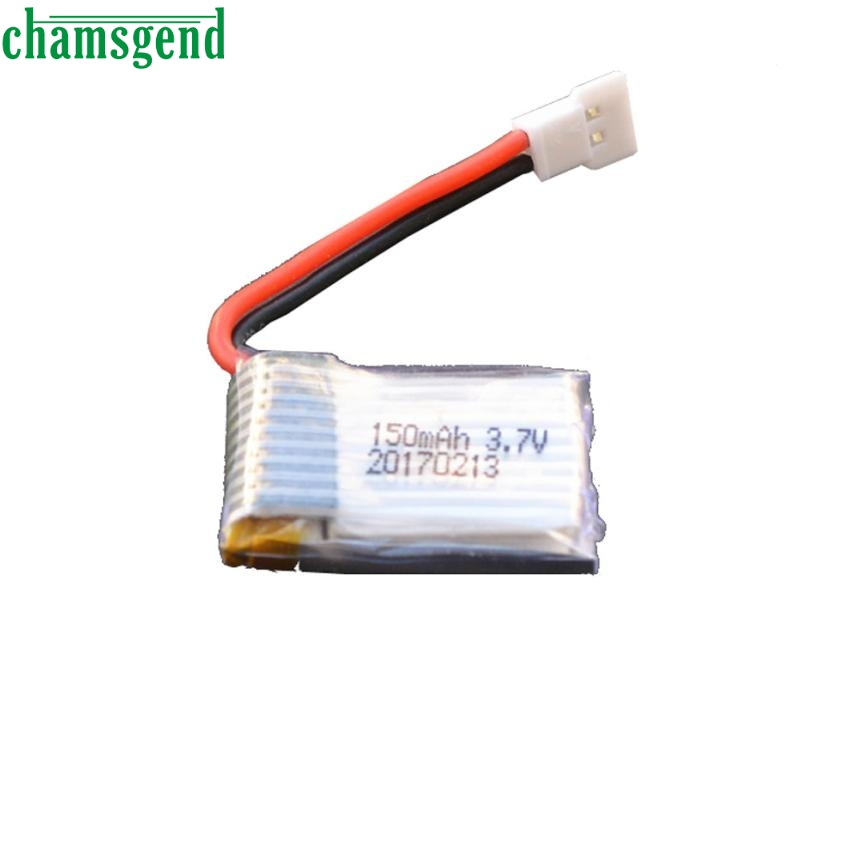 CHAMSGEND 1Pcs 3.7V 150mAh Battery for Drone H8 RC Quadcopter may 24 P30