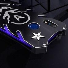 Boîtier OPPO Realme X boîtier en métal pour OPPO A9 K3 puissant étui antichoc pour OPPO Realme X Zimon coque de protection robuste armure