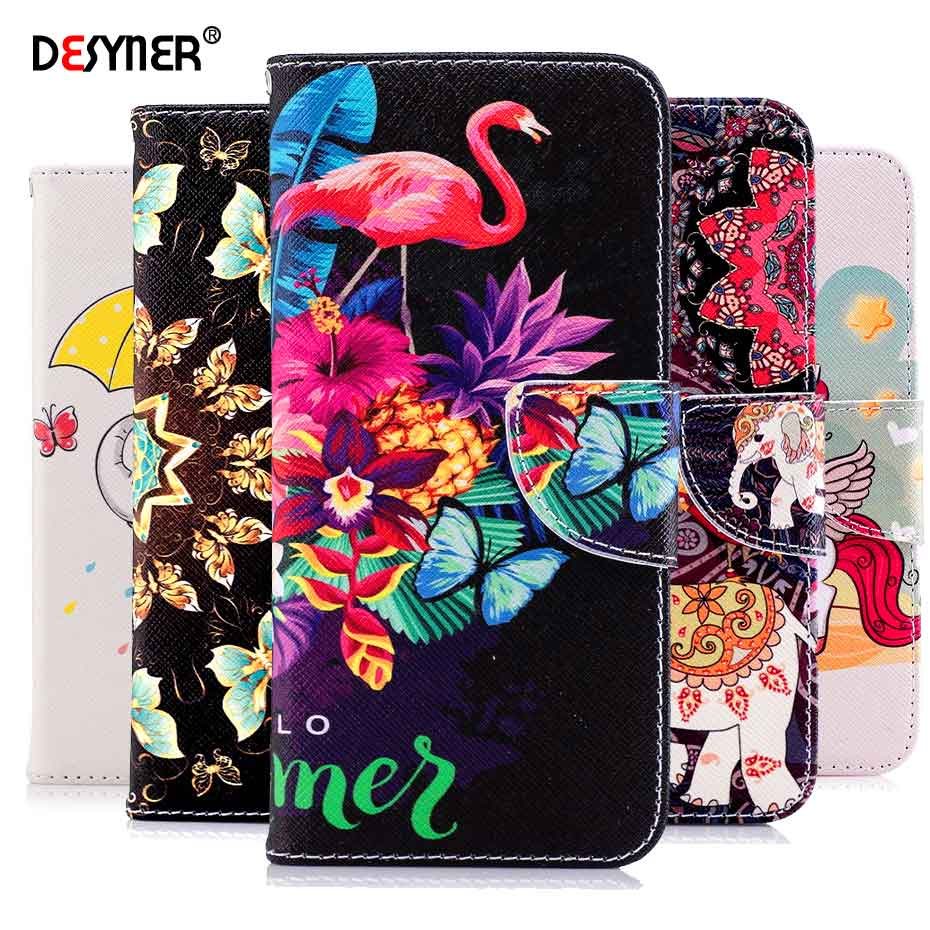 <font><b>Flip</b></font> Leather Wallet Phone Cover <font><b>Case</b></font> For <font><b>Samsung</b></font> Galaxy S9 S8 Plus A6 A8 J2 Pro J4 J6 2018 A5 J3 J5 <font><b>J7</b></font> <font><b>2017</b></font> Note 8 Bag <font><b>Case</b></font> image