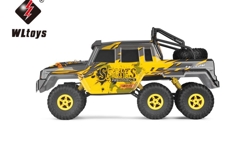 цена на 18628 RC Car 1:18 2.4G 6WD Remote Control Electric Toy Car Model Off-Road Climbing RC Buggy Outdoor rock crawler