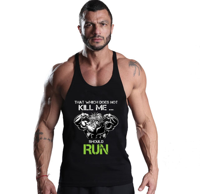 2017 Men Tank Top Gym Vegeta