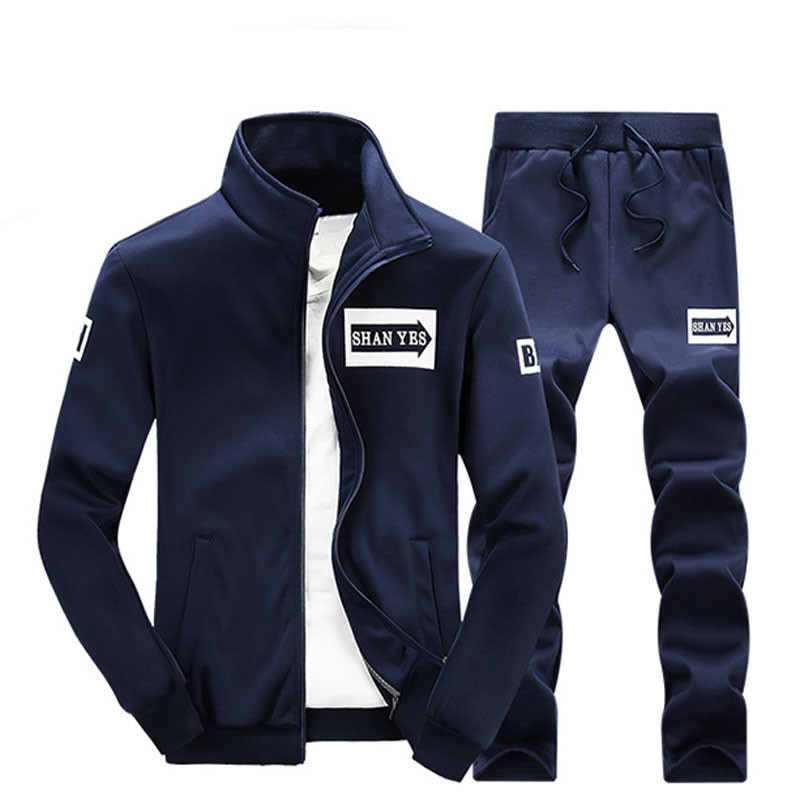 Mountainskin 2018 Men's Sets Casual Hoodies Sets Solid Sweatshirts Spring Autumn Tracksuit Male Sweatpants And Sportswear SA065