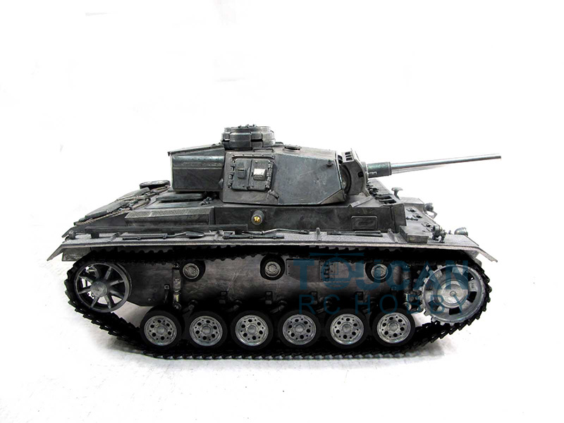 100% Metal Mato 1/16 Panzer III KIT RC Tank BB Shooting Pellet Metal Clolor 1223 mato sherman tracks 1 16 1 16 t74 metal tracks