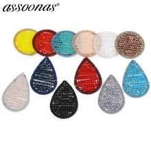Assoonas M300, ювелирные аксессуары, серьги кристалл, ручной работы, ювелирные изделия, diy кулон, амулеты, diy серьги, изготовление ювелирных изделий