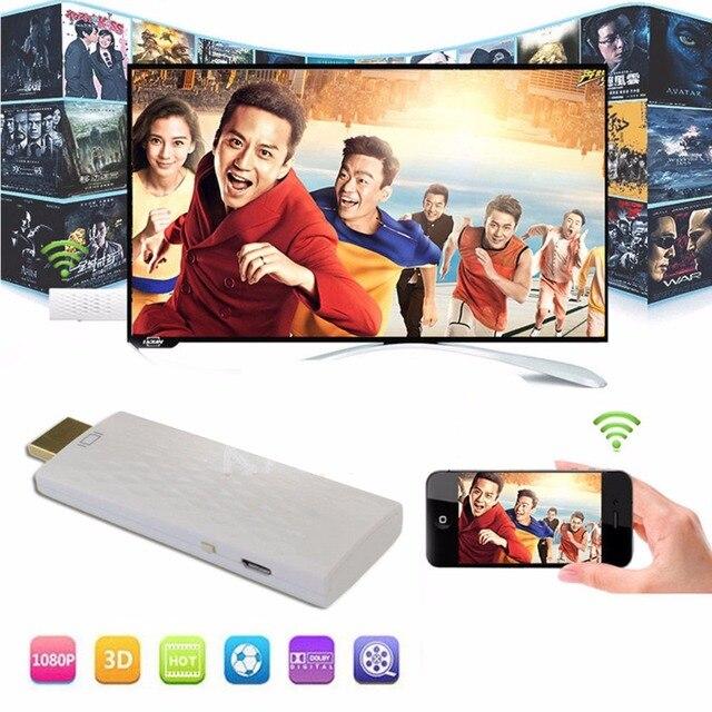 SOONHUA A1 Airplay 1080 P HDMI הטלוויזיה סטיק הטלוויזיה Dongle מקלט תצוגת WiFi אלחוטי Miracast תצוגת מראה עבור טלפון אנדרואיד מחשב