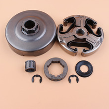 Clutch Drum Sprocket Rim Washer Bearing Kit For Husqvarna 365 372 XP 372XP 371 362 Chainsaw Parts 3/8