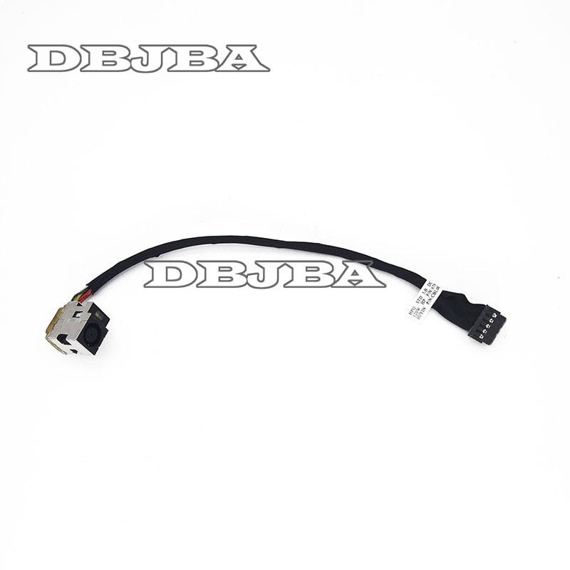 DC POWER JACK HARNESS CABLE FOR HP DV7 TPN W109 678225 SD1