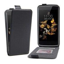 """Для LG K8 чехол Роскошный из искусственной кожи чехол для LG K8 Lte K350 K350E K350N 5,"""" K 8 4G флип защитный чехол для телефона"""