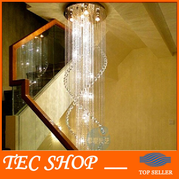JH Modern Deluxe Villa Staircase Chandelier Hotel Lobby Double Staircase K9 Crystal Chandelier LED Lustres Crystal Lamp Lighting scanhome supermarket handheld 2d code scanner bar code reader qr code reader usb zd5800 2d bar code scanner