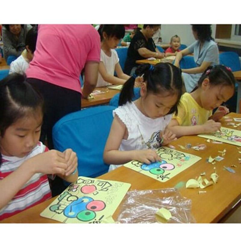 10pcs bag 16 12cm Children Sand Painting Pictures Children DIY HandCrafts Learning Educational font b Toy
