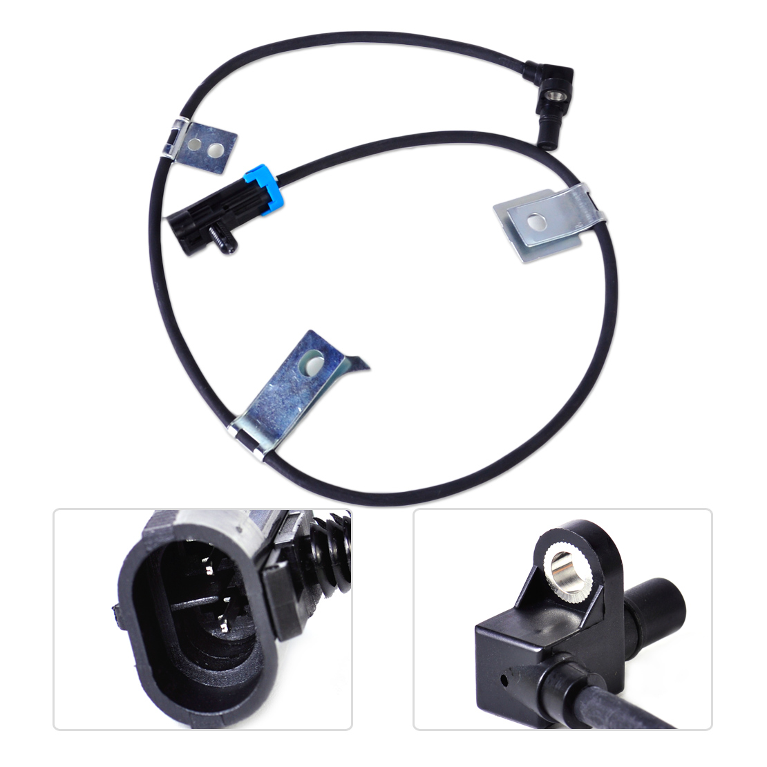 DWCX 15991986 Front Left / Right ABS Wheel Speed Sensor for Cadillac Escalade Chevrolet Chevy Express K1500 Silverado Tahoe