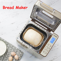 HOT SALE !Full automatic Bread Maker Multi functional Intelligent Bread Baking Machine DIY Bread Baking Toaster DL TM018