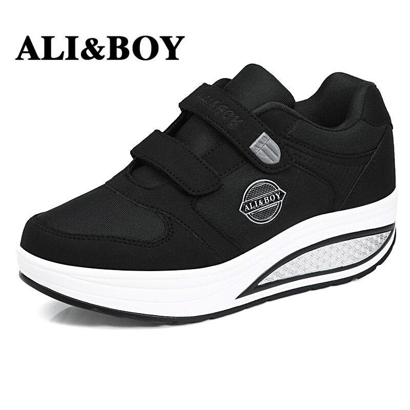ALI   BOY Merek Terbaru Musim Semi Musim Gugur Sepatu Lari Untuk Outdoor  Nyaman Wanita Sneakers 9c8e488a08