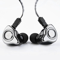 The Fragrant Zither TFZ EXCLUSIVE KING In Ear Monitor Earphone 3 5mm Silver Plating Cable Stereo