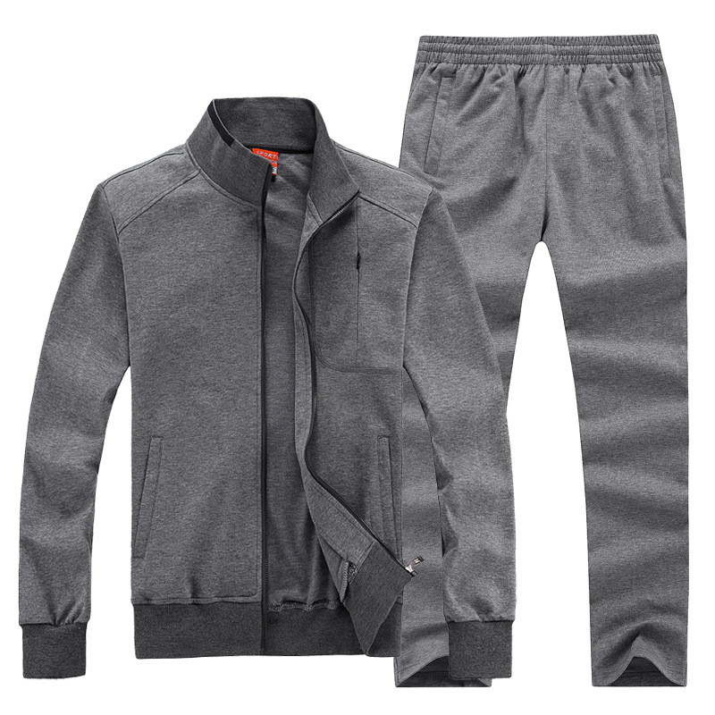 2017 New Men Sportwear Sports Set Male Gym Clothing Jogger Jogging Suit Running Outdoors Tracksuits Plus Big Size 6XL 7XL 8XL