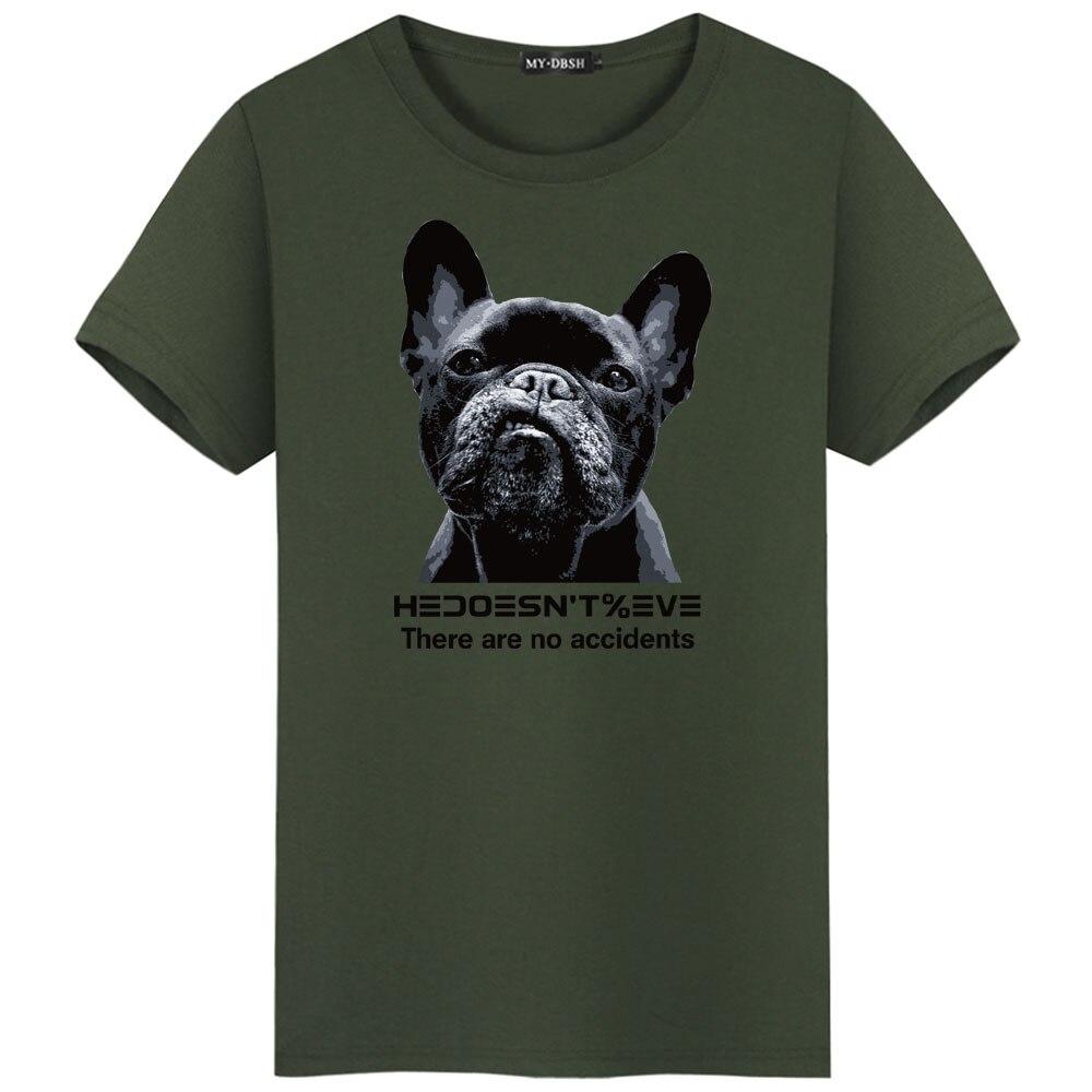 fb54eb79d03ab US $6.88 40% OFF|Hot Sale 2019 Ferocious Pug Dog Printed Mens T Shirts  Novelty French Bulldog Tee Shirts Men's Cotton Short Sleeve t shirts  S~5XL-in ...
