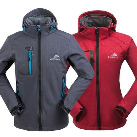 novo masculino feminino sportwear pesca de esqui casaco de acampamento softshell jaqueta ao ar livre