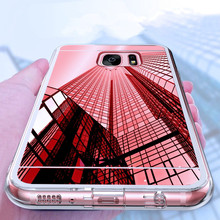 Luxury Rose gold Glitter Mirror Case For Samsung Galaxy S5 S6 S7 edge S8 S9 S10 Plus Note 5 8 9 Soft Clear TPU Cover Phone Coque