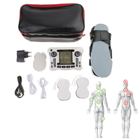 Electrical Dual Channel Output Physiotherapy Digital Therapy Massager TENS EMS Pain Relief Nerve Muscle Stimulator
