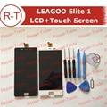 LEAGOO Elite 1 LCD display + touch Screen Substituição Do Painel de Tela lcd de 5.0 polegadas Para LEAGOO Elite um (preto/branco) Frete Grátis