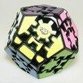 Lanlan Megaminx cubo mágico Puzzle negro IQ Puzzles velocidad juguete de aprendizaje y educación cubo personalizado cubo mágico juego de juguetes