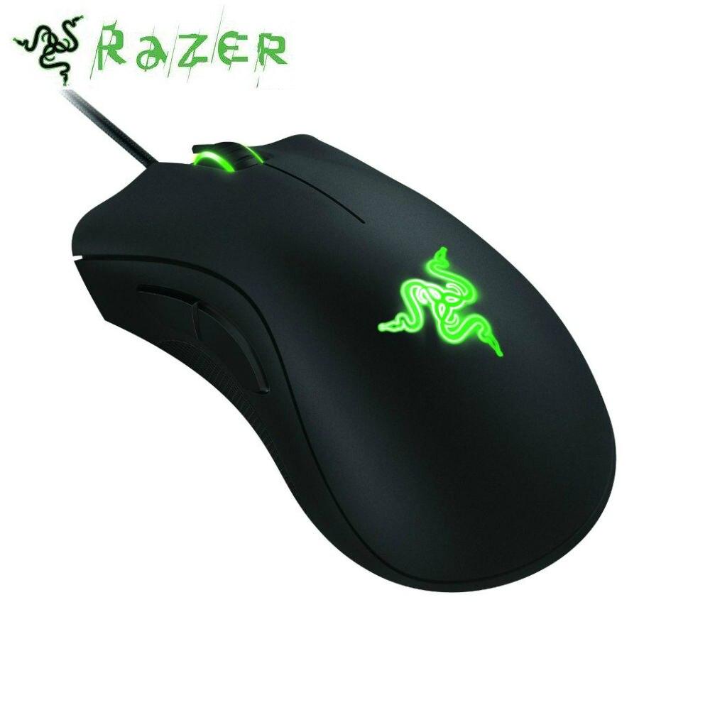 Razer DeathAdder 2013 6400 DPI Ergonomique Gaming Mouse pour CSGO Et Overwatch
