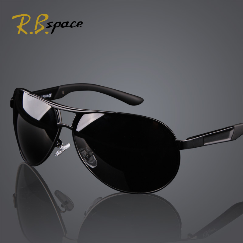 c7e080f37df R.Bspace Brand 2017 New Fashion Men s UV400 Polarized coating Sunglasses  men Driving Mirrors oculos
