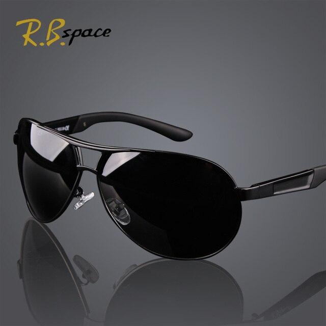 7aec64a1f2486 Hot 2015 moda UV400 óculos polarizados revestimento homens dos homens  condução do aviador espelhos óculos óculos