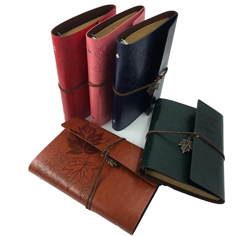 RuiZe Vintage notebooku A5 kožené cestování denní cestující - Bloky a záznamní knihy - Fotografie 1