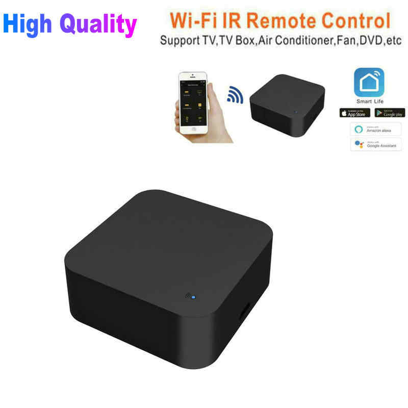 Tikigogo Smart WiFi IR Infrared Remote Control for TV Air Conditioner Fan  DVD etc  for Alexa Google Assistant Voice control