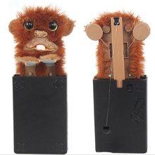 Инновационные игрушки для питомцев, игрушки с подвохом смешной обезьянки, меховые пластиковые игрушки для домашних животных, игрушки для взрослых, игрушки для детей