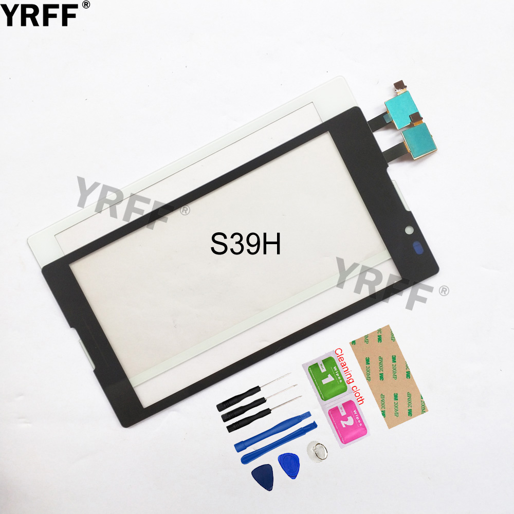 5.0'' Touch For Sony Xperia C S39H C2304 C2305 Touch Screen Digitizer Sensor Touch Glass Lens Panel