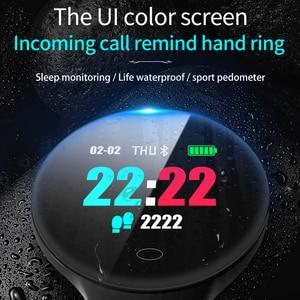 Image 5 - Montre intelligente Sl1 hommes femmes sport Fitness activité Tracker Ip67 étanche Vibration réveil Smartwatch pour Ios Android